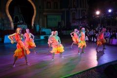艺术性的舞蹈授予2014-2015 库存照片