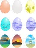 艺术性的鸡蛋 免版税图库摄影