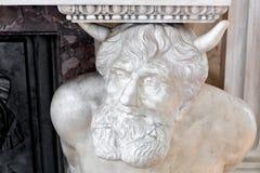 艺术恶魔符号 库存照片