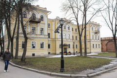 艺术拉赫曼尼诺夫诺夫哥罗德学院  免版税库存照片