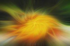 艺术摘要背景 黄色和绿色模式 图库摄影