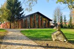 艺术新房在Radziejowice (波兰) 库存照片