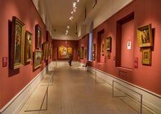 艺术普希金博物馆在莫斯科 库存图片