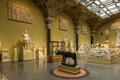 艺术普希金博物馆在莫斯科 库存照片