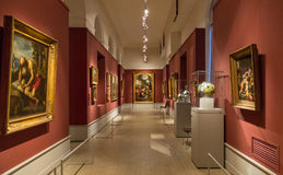 艺术普希金博物馆在莫斯科 图库摄影