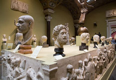 艺术普希金博物馆在莫斯科 免版税库存图片