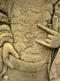 艺术曼谷雕刻东方雕象寺庙thail 免版税库存图片