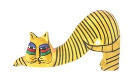 艺术木猫的伙计 免版税图库摄影