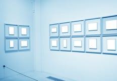 艺术构成博物馆墙壁白色 库存图片