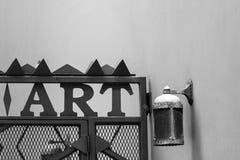 艺术标志 免版税库存照片