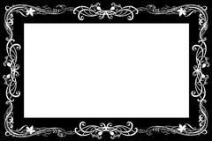 艺术框架nouveau 库存图片