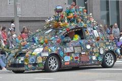 艺术汽车 免版税图库摄影