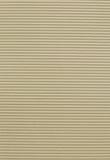 艺术波状纸板纹理 免版税库存照片