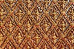 艺术泰国墙壁 免版税库存照片