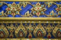 艺术泰国模式的样式 库存图片