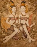 艺术泰国造型的样式 免版税图库摄影
