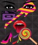 艺术流行音乐 免版税图库摄影