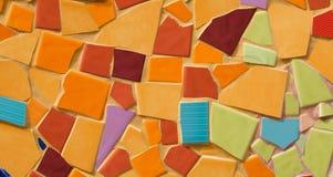艺术瓦片墙壁 免版税库存照片