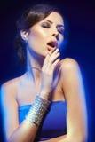艺术秀丽方式珠宝照片 免版税库存图片