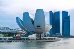 艺术科技馆在新加坡 图库摄影