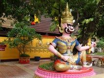 艺术细节在佛教寺庙的 免版税库存图片