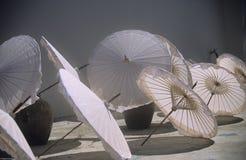 艺术细致的遮阳伞 免版税库存照片