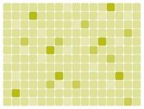 艺术绿色长方形被舍入的向量 免版税库存照片