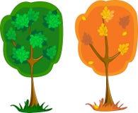 艺术美好的结构树向量 库存图片