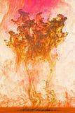 艺术背景五颜六色的液体 免版税库存照片