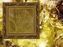 艺术背景框架珠宝 免版税库存图片