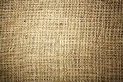 艺术背景粗麻布布料片段图象大袋纹理种类 免版税库存图片