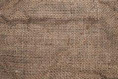 艺术背景粗麻布布料片段图象大袋纹理种类 免版税图库摄影