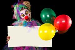 艺术背景迅速增加小丑例证向量白色 免版税库存照片