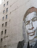 艺术街道墙壁 免版税库存图片