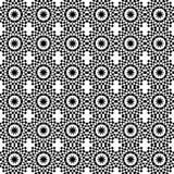 艺术装饰几何模式无缝的样式瓦片 向量例证