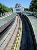 艺术装饰地铁站在维也纳 图库摄影