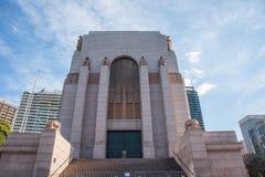 艺术装饰安扎克战争纪念建筑 库存图片