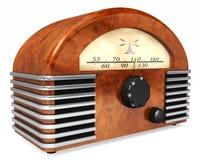 艺术装饰收音机 库存照片