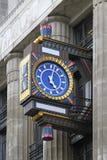 艺术装饰时钟 免版税库存照片