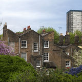 艺术装饰样式城内住宅 免版税库存照片