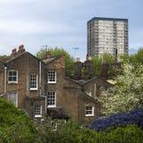 艺术装饰样式城内住宅 免版税图库摄影