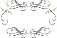 艺术装饰框架 免版税库存照片
