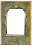 艺术装饰框架 库存照片
