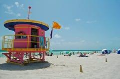 艺术装饰海滩 免版税库存图片
