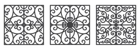 艺术装饰花卉无缝的墙纸 库存例证
