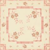 艺术装饰花卉背景补缀品设计 免版税库存照片