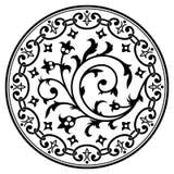艺术装饰设计要素 免版税库存照片