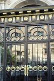 艺术装饰门 免版税库存照片