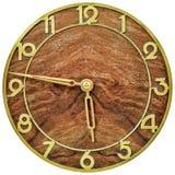 艺术装饰clockface从20世纪初 库存照片