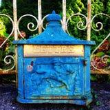 艺术装饰letterbox 库存照片